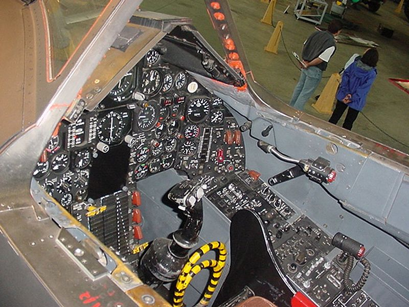 Lockheed SR-71 Blackbird - Cockpit