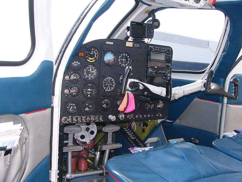 Republic RC-3 Seabee - Cockpit