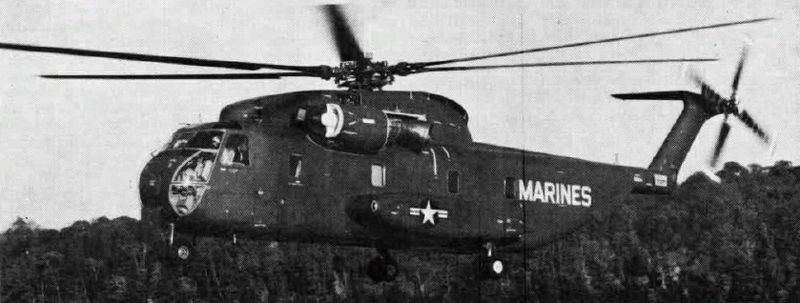 Sikorsky YCH-53A Sea Stallion