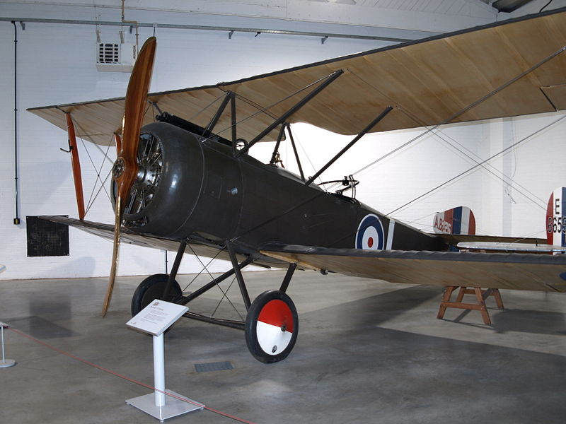Sopwith Strutter du Royal Flying Corps exposé
