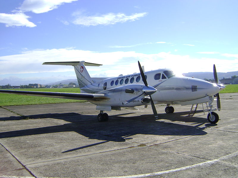 Beech 200 Super King Air suisse