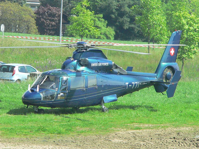 Aérospatiale AS365 N1 Dauphin 2 suisse