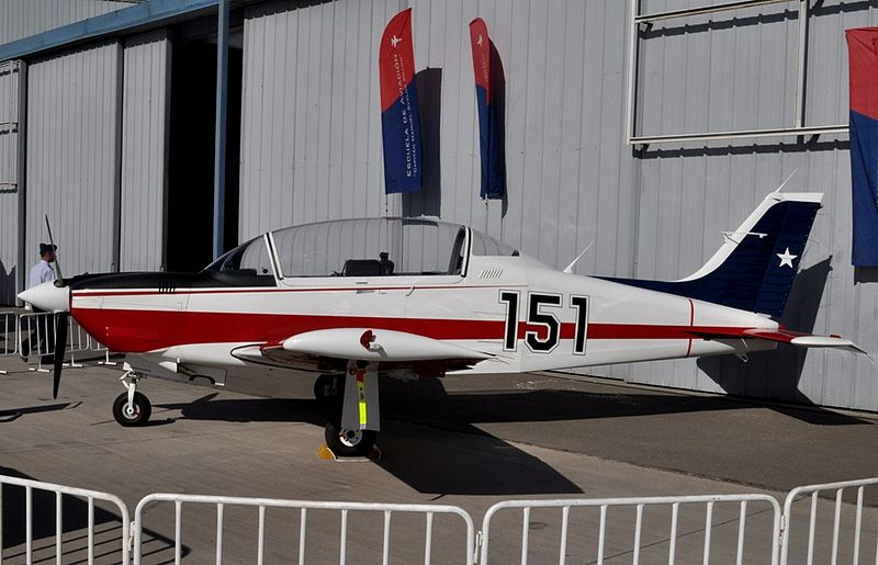 Enaer T-35B Pillan chilien