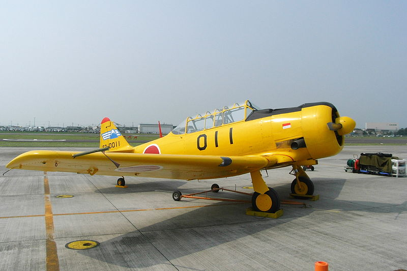 North American T-6F Texan japonais