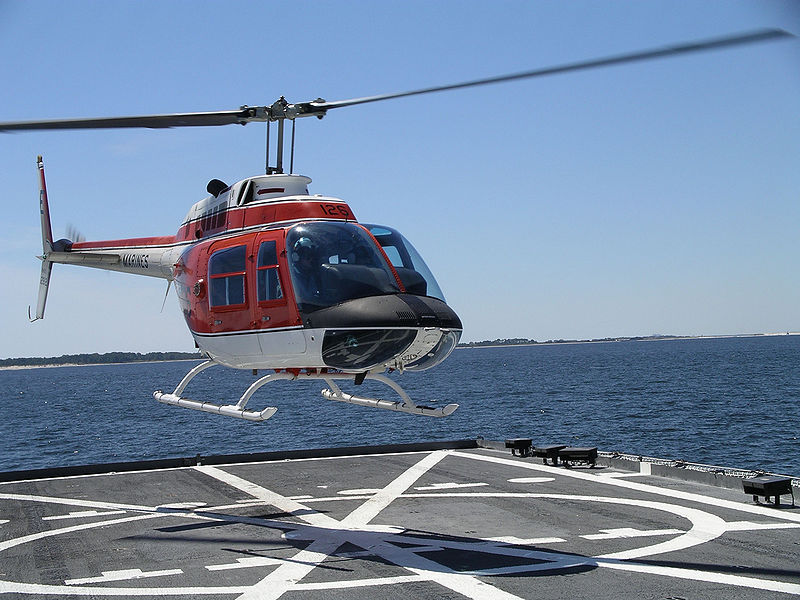 Bell 206 (TH-57C) de l'US Navy