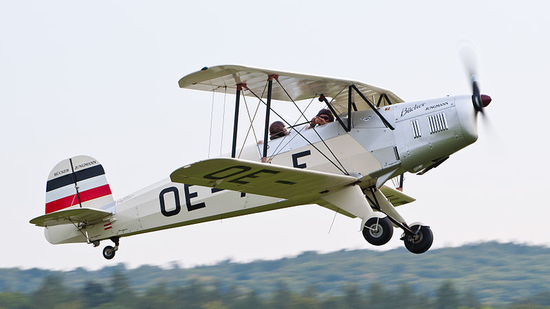 Bücker Bü 131 Jungmann (T-131PA) de collection