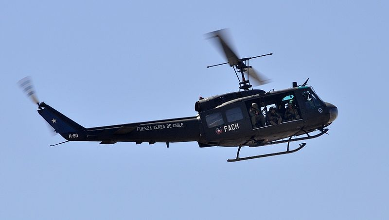 Bell UH-1H Huey chilien