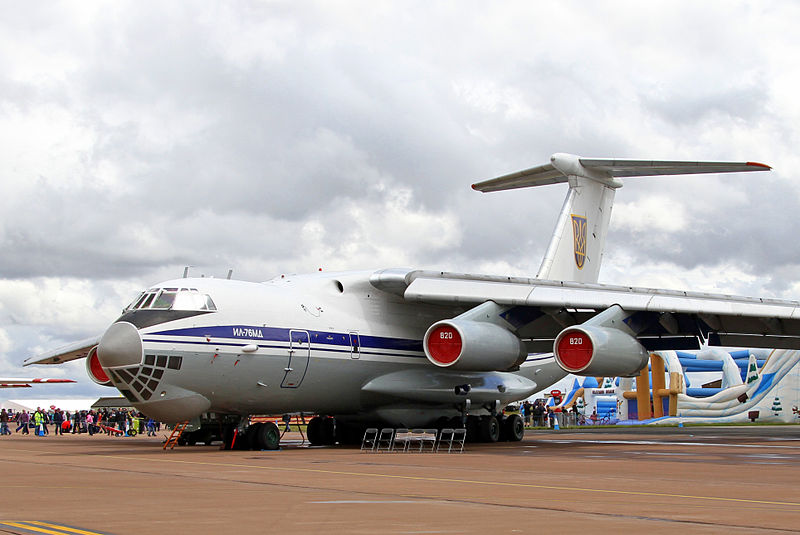 Iliouchine Il-76MD ukrainien