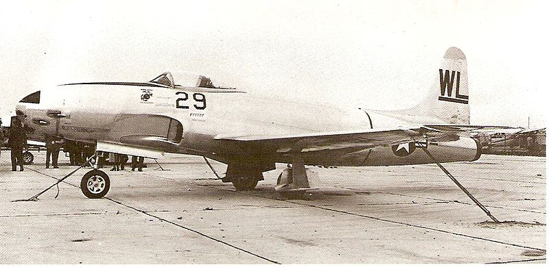 Lockheed P-80 Shooting Star (TO-1) de l'USMC