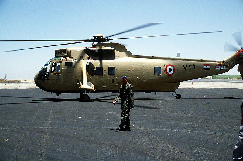 Westland WS.61 Sea King (Commando Mk 1) égyptien