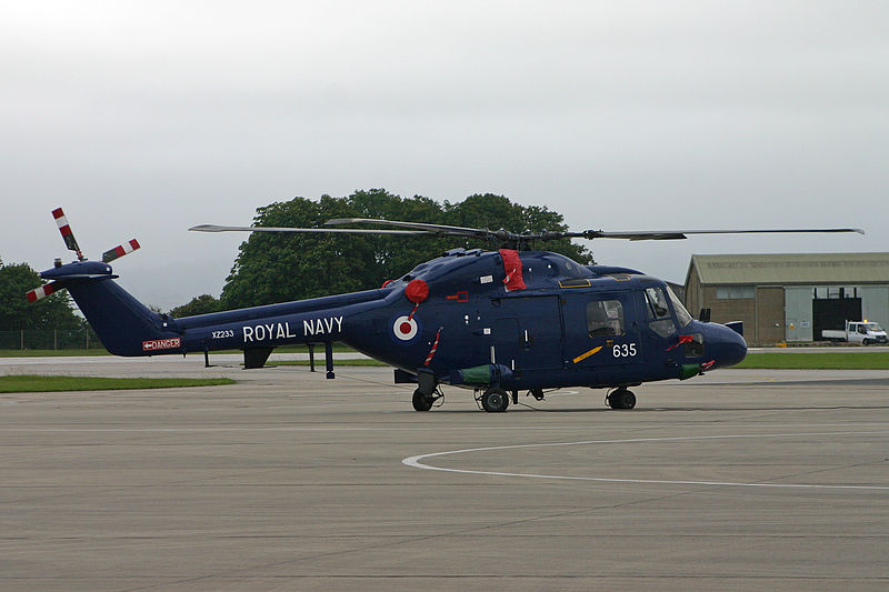 Westland Lynx HAS.3S de la Royal Navy