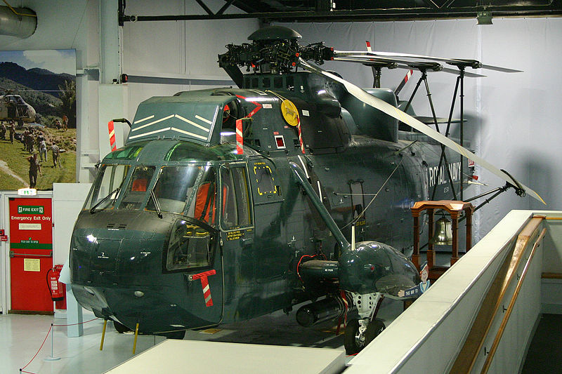 Westland WS.61 Sea King HAS.5 de la Royal Navy
