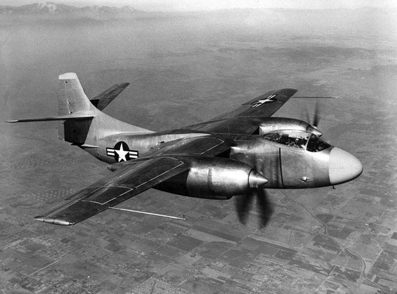 North American A-2 Savage - Prototype XAJ-1 en vol