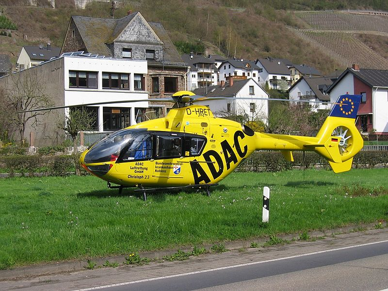 Eurocopter EC135 P1 civil
