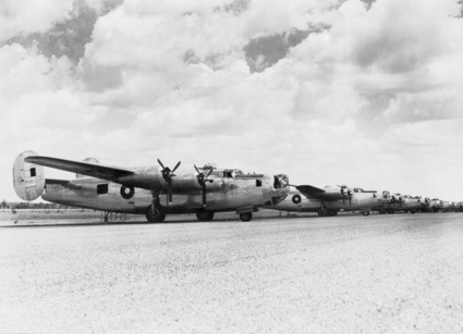 Consolidated B-24 Liberator australiens au sol