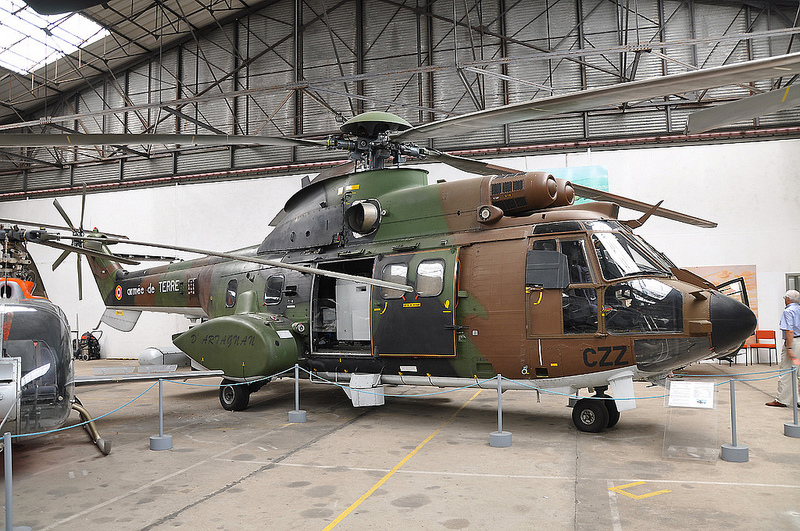 Aérospatiale AS532 UL Cougar Horizon de l'ALAT