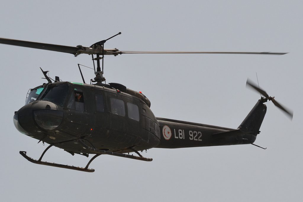 Bell UH-1H Huey tunisien