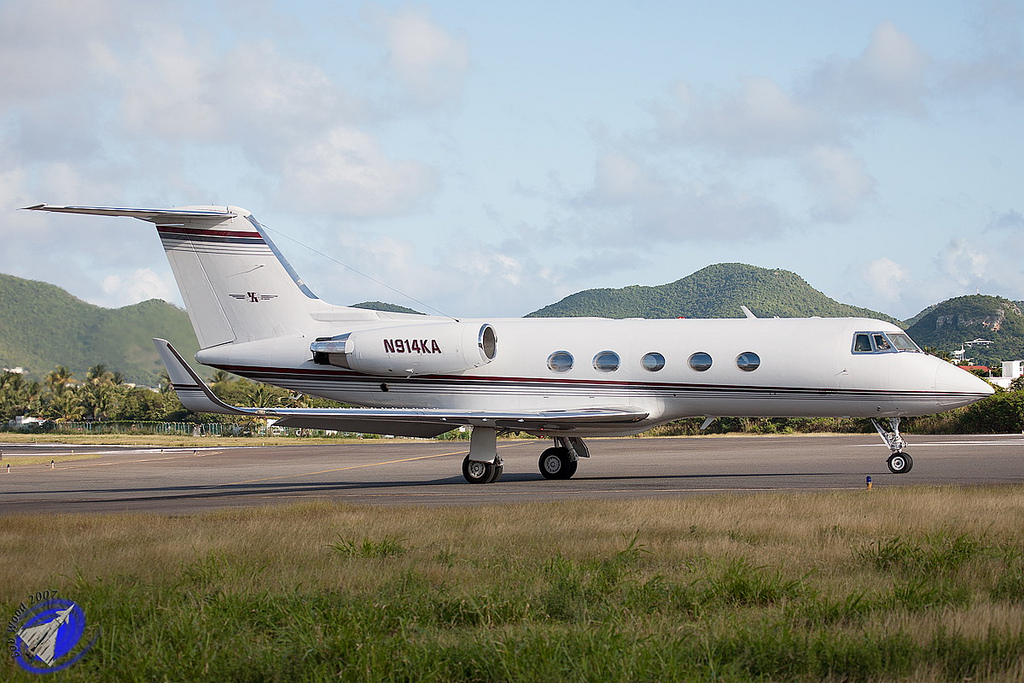 Gulfstream II SP civil