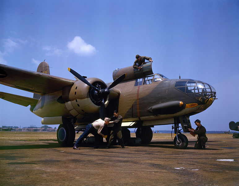 Douglas A-20C Boston de l'USAAF