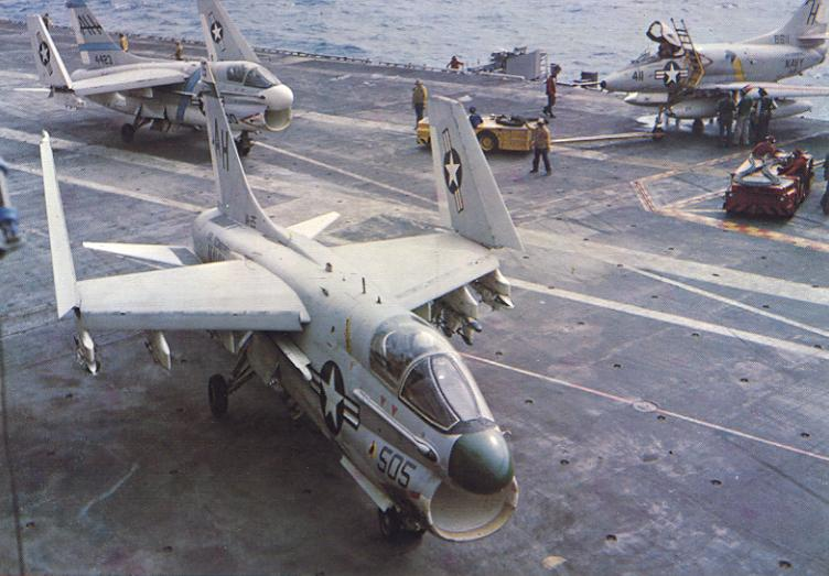 Vought A-7B Corsair II de l'US Navy