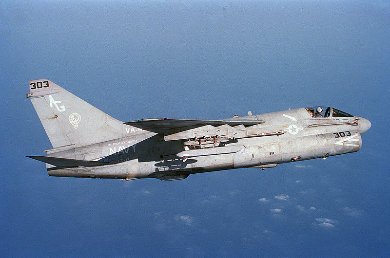 Vought A-7E Corsair II de l'US Navy