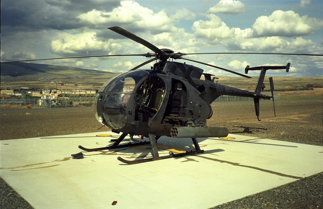 "Hughes AH-6C Cayuse du 160th SOAR ""Night Stalkers"""