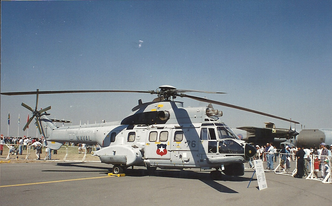 Aérospatiale AS532 SC Cougar (SH-32) de la marine chilienne