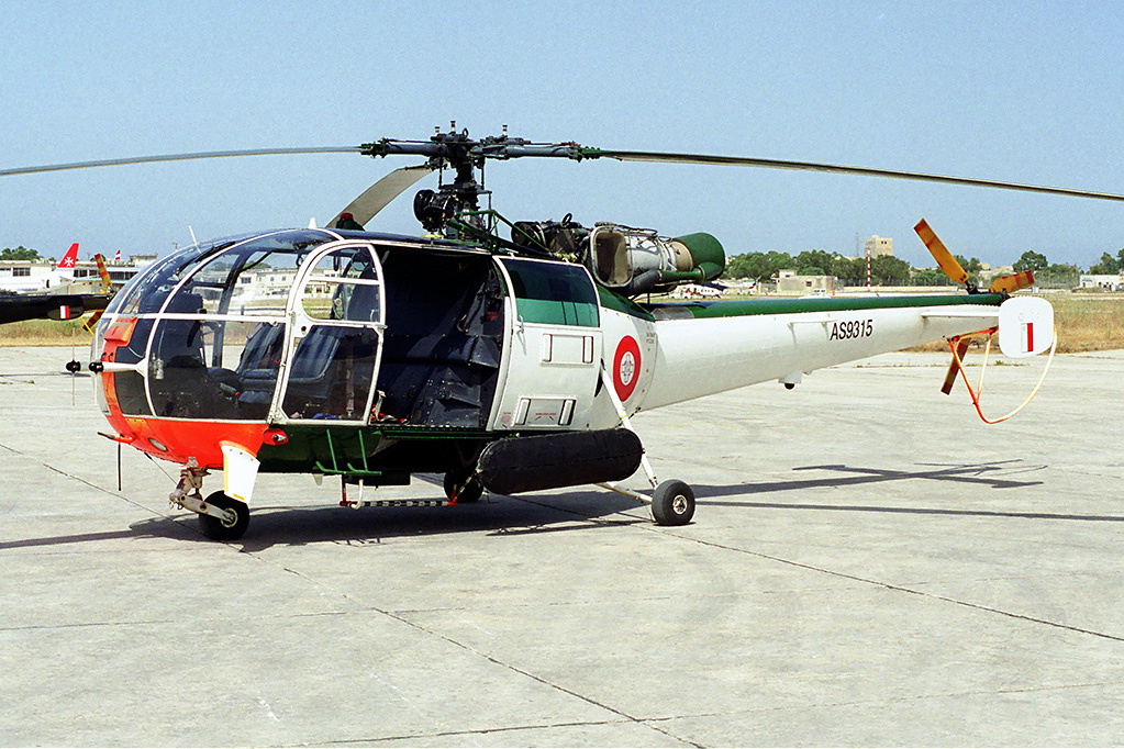 Sud-Aviation SA 316B Alouette III maltaise