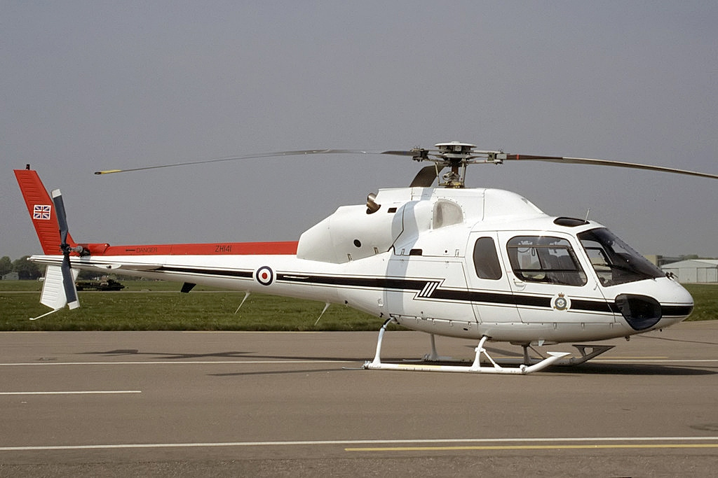 Aérospatiale AS 355F1 de la RAF