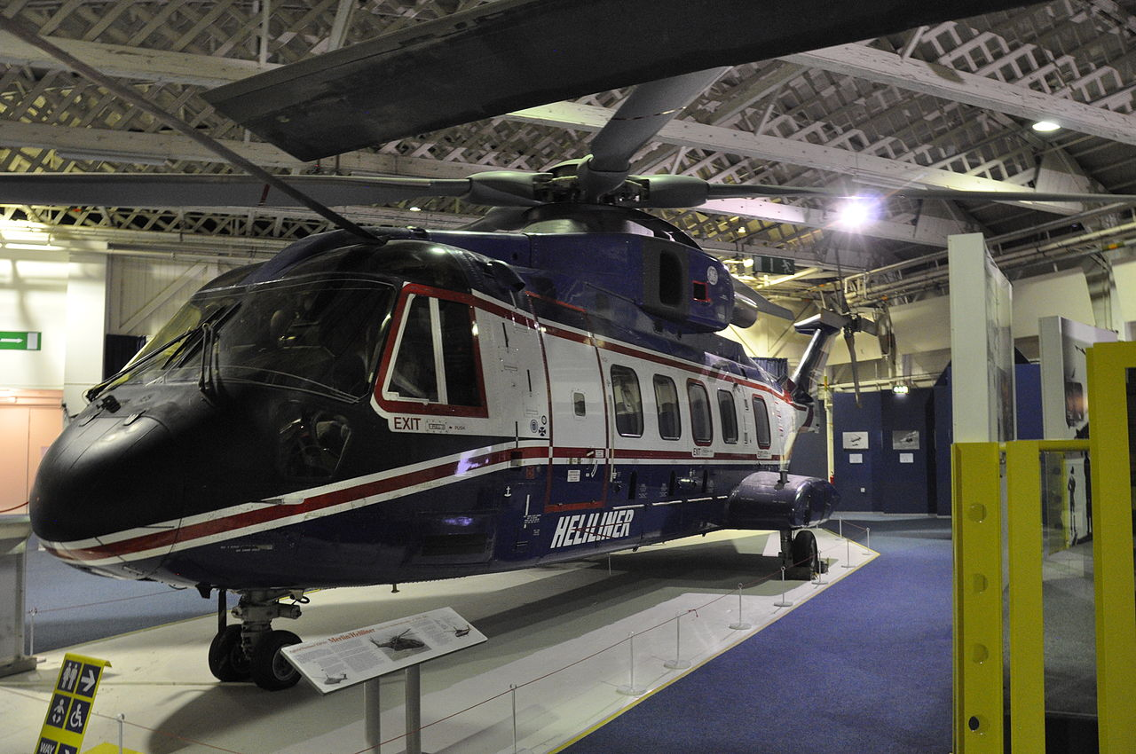 AgustaWestland AW101 Merlin - Prototype de la version civile