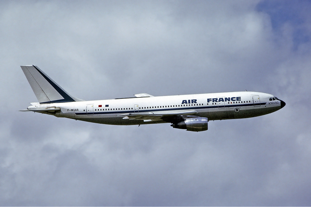Airbus A300B2 civil