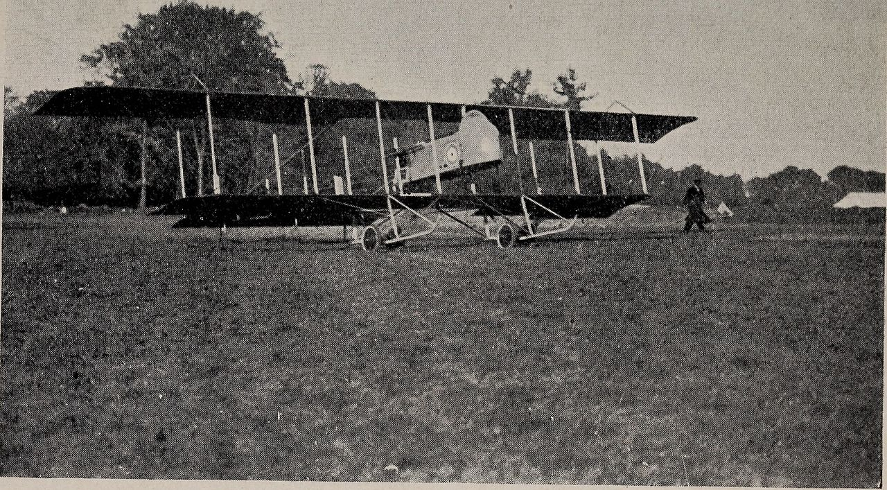 Farman MF.11 du Royal Flying Corps