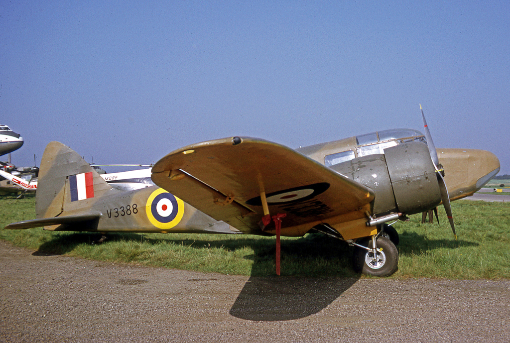 Airspeed AS.10 Oxford I de la RAF