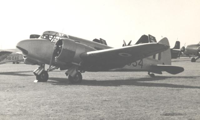Airspeed AS.10 Oxford de la RAF