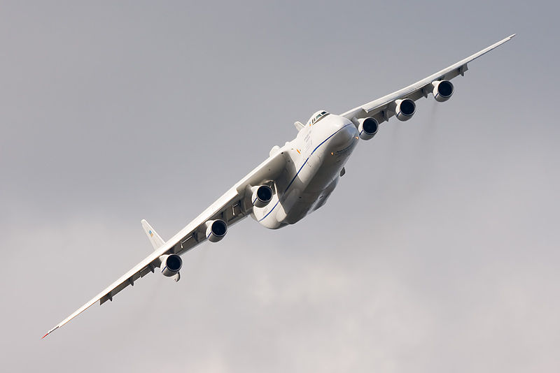 Antonov An-225 Cossack en vol