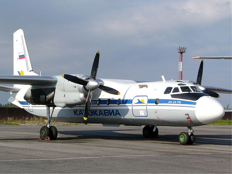 Antonov An-24RV civil au sol