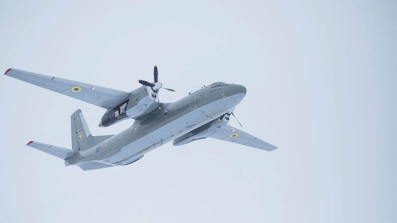 Antonov An-26 ukrainien en vol