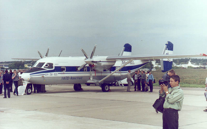 Antonov An-28 Cash (An-38-100) civil au statique