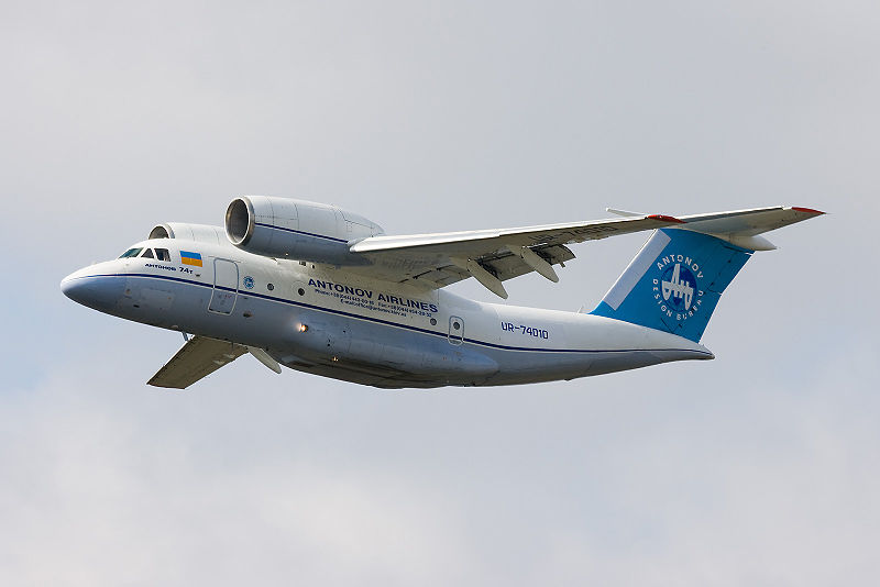 Antonov An-74T en vol