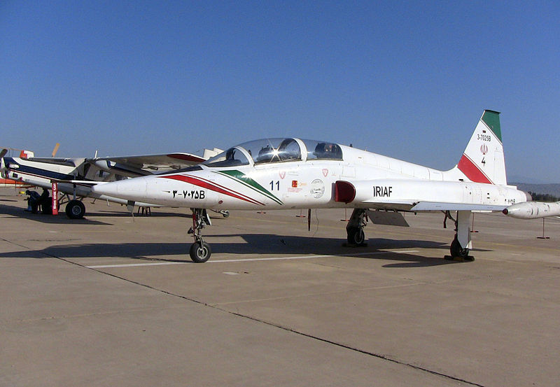 Northrop F-5B Freedom Fighter iranien