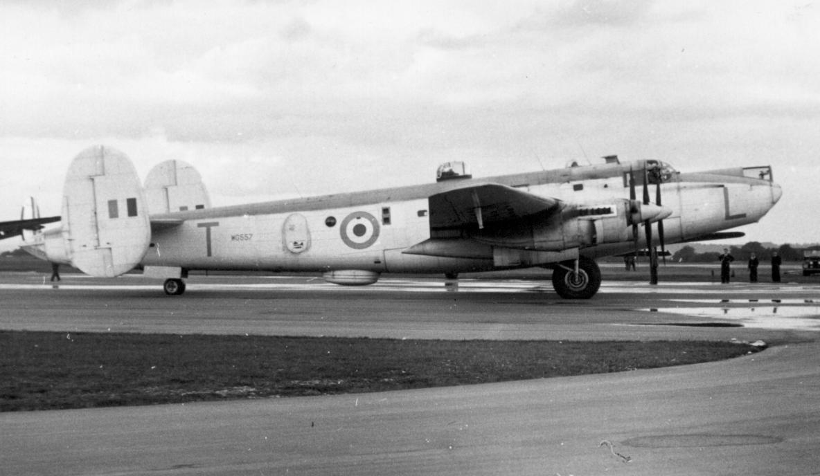 Avro Shackleton MR.2 vu de profil