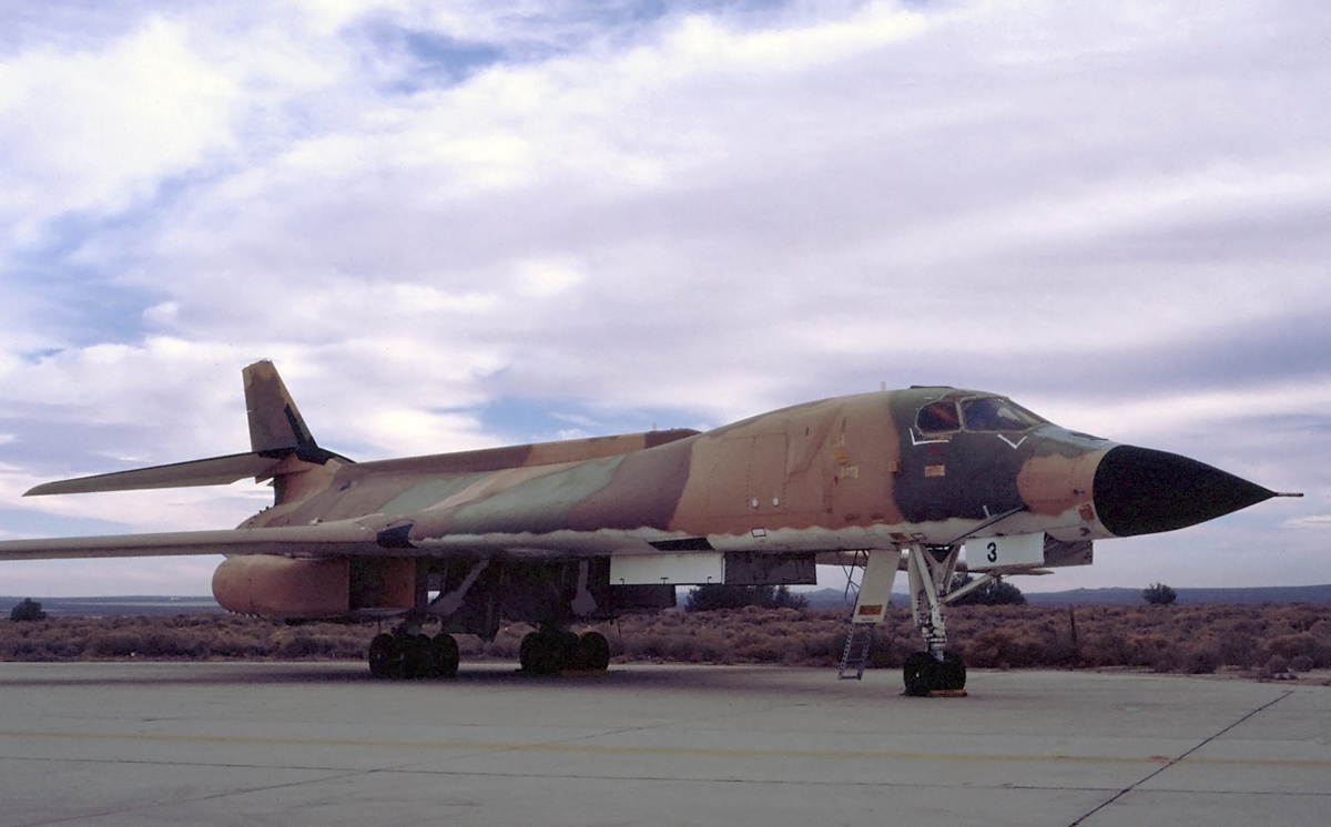 Rockwell B-1A Lancer camouflé - Prototype n°3