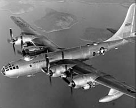 "Boeing B-50A Superfortress de l'USAF ""Lucky Lady II"" en vol"