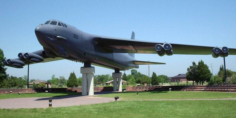 Boeing B-52G Stratofortress exposé