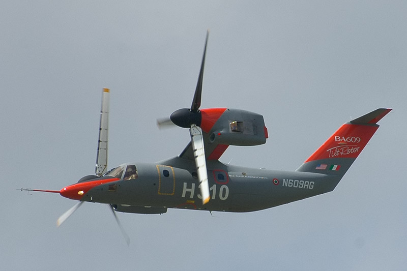 AgustaWestland AW609 - Prototype n°2 en vol mode avion