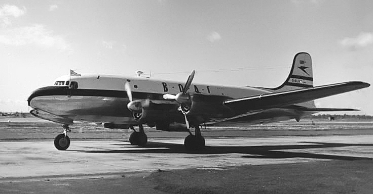 Canadair DC-4M North Star C-4 de BOAC