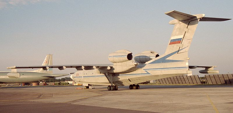 Beriev A-40 Mermaid au sol