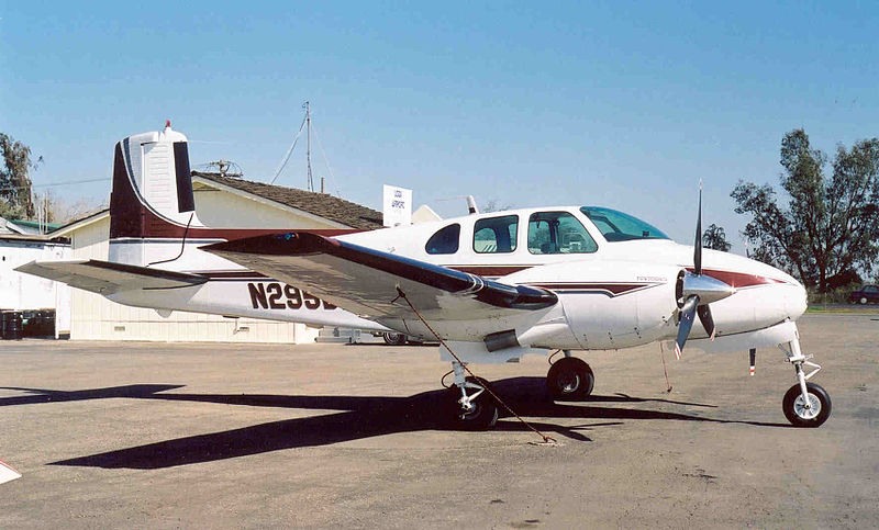 Beech D50 Twin Bonanza civil