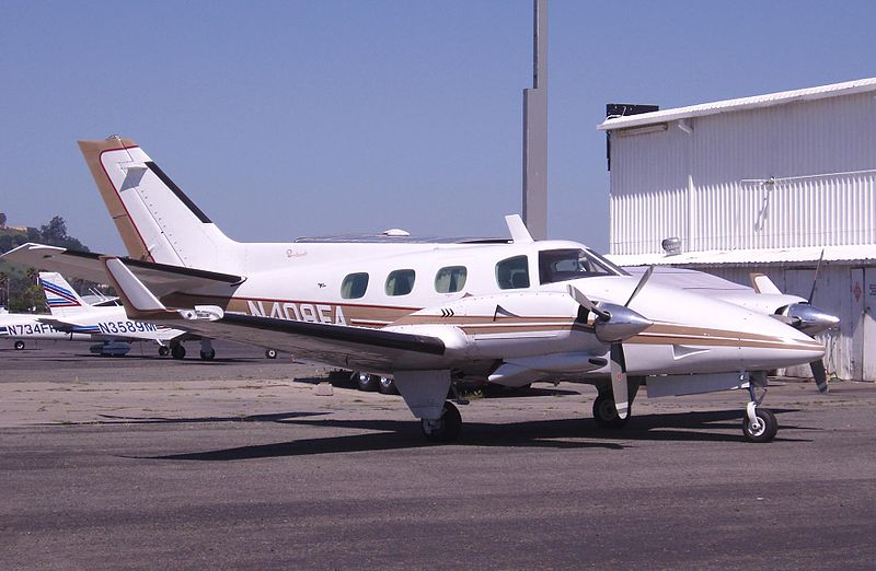 Beech 60 Duke (B60) civil