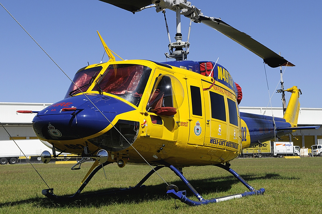 Bell 214B-1 Biglifter civil